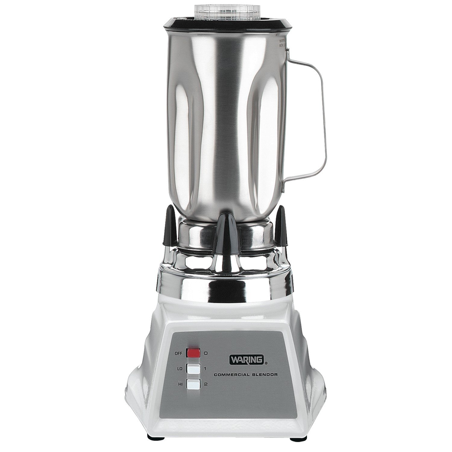 waring 8011es two speed blender 1 0 litre stainless steel container with handle and two piece. Black Bedroom Furniture Sets. Home Design Ideas
