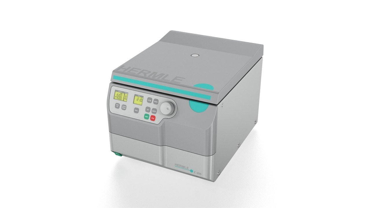 Hermle Z 306 Small Universal Centrifuge , Max Speed 14,000 rpm, Max