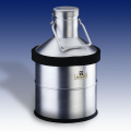 KGW Isotherm 1294 24AL Aluminium Brushed Spherical Dewar Flasks, 10 Litre Capacity