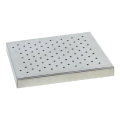 Heidolph 549-59100-00 Universal Perforated Platform 100 allows for individual arrangement of vessels