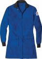 Bulwark Protection KNR3 FR/CP Women's Nomex Laboratory Coat Flame Retardant and Chemical Protected, Arc Rating ATPV 5.6 cal/cm2