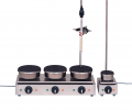 Harry Gestigkeit SGR 6 , Six Position Hotplate , 150mm Plate Diameter, 3000 Watt, with Connection for Contact Thermometer