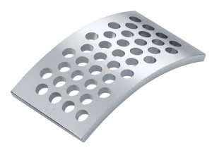 IKA MF 4.0 Interchangeable Stainless Steel Sieve Ø 4.0 mm Hole Size for MF 10 Basic Grinder
