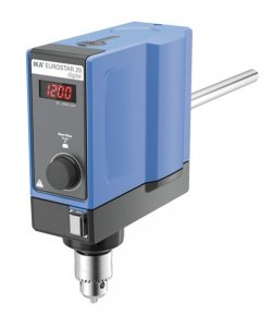 IKA EUROSTAR 20 Digital Laboratory Overhead Stirrer, 0/30 - 2000 rpm Speed Range, 15 Litre Capacity, 10000 mPas Maximum Viscosity