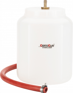 CertoClav 8582020 Condensation Vessel (5L) with hose (1,0m)