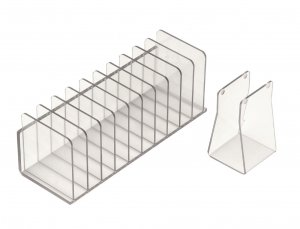 Seward BA6090 Stomacher® 80 Bag Rack (10 place), Made from high grade plastic polymer