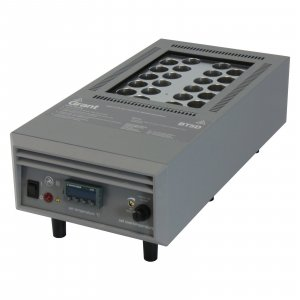 Grant Instruments BT5D-26 High Temperature Digital Dry Block Heater, Ambient +10 to 400ºC for 22 x ø26mm tubes