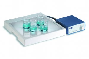 Stuart Scientific CP300 PTFE Acid Resistant Glass Ceramic Hotplate, 400°C, 900 W, 300 x 300 Plate Dimensions