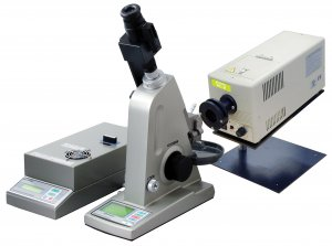 Atago 1410 DR-M2 Multi-Wavelength Abbe Refractometer, 1.3278 to 1.7379 - 1.2743 to 1.684 Measurement Range