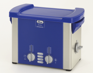 Elma 100 7141 Elmasonic S Series S30H, Analogue Ultrasonic Cleaning Bath with Heating, Without Cover and Basket, 2.75 Litres Capacity, 115-120V