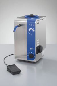 Elma 107 6002 Elmasteam 8 Basic Laboratory Steam Cleaner with 1x Fixed Nozzle, Foot Switch, Pump and Compressed Air Connection, 5 Litre Tank Volume, 230V