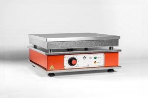 Harry Gestigkeit HD 0, Eloxidised Aluminium Alloy Hotplates,  with Variable Temperature Control, 1800W, 230V, 370°C Maximum Temperature
