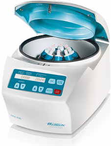 Hettich 1800 EBA 200 High Performance Centrifuge, Angle Rotor for 8 x 15 ml tubes Included