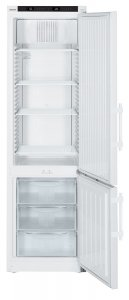 Liebherr LCexv 4010 ATEX Approved Laboratory Combination Spark Free Fridge Freezer, 361 Litre Capacity