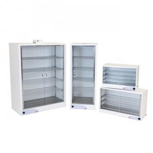 LEEC B2 Drying Cabinet, 255 Litre, Standard Convection Model with Hinged Doors, 864 x 635 x 610 External Dimensions, 1000W