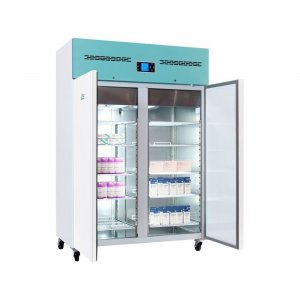 Lec Medical PSR1200UK Standard Solid Door Laboratory Large Pharmacy Refrigerator, 2°C to 8°C Temperature Range, 1200 Litres Capacity