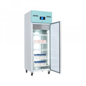 Lec Medical PSR600UK Standard Solid Door Laboratory Large Pharmacy Refrigerator, 2°C to 8°C Temperature Range, 600 Litres Capacity