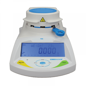 Adam Equipment PMB 53 Moisture Analyser Balance, Maximum Capacity 50g, Readability 0.001g /0.01%, Pan Size 100mm Dia