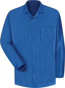 Red Kap KK26 Mens Electronic Blue ESD Anti-Static Counter Coat - Sizes Small to 3XL