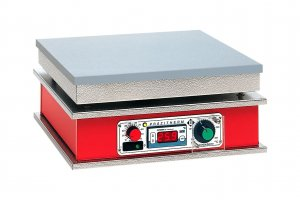 Harry Gestigkeit PZ 28-2 Microprocessor Controlled Precision Digital HotPlate, 20..300 °C Temperature Range, 1100W, 230V