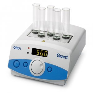 Grant Instruments QBD1 Digital Dry Block Heater , Ambient +5 to 130°C holds 1 Interchangeable Block, 120 or 230V