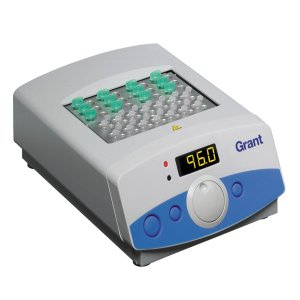 Grant Instruments QBD2 Digital Dry Block Heater, Ambient +5 to 130°C holds 2 Interchangeable Block, 120 or 230V
