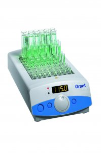 Grant Instruments QBD4 Digital Dry Block Heater, Ambient +5 to 130°C holds 4 Interchangeable Block, 120 or 230V