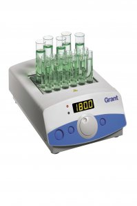 Grant Instruments QBH2 Digital Dry Block Heater,  Ambient +5 to 200°C holds 2 Interchangeable Block, 120 or 230V