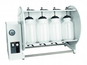 Heidolph 541-20008-03 Reax 20/8 Electronic Rotary Overhead Shaker, 30Kg Load Capacity, for 8 Bottles, 2 - 32 rpm
