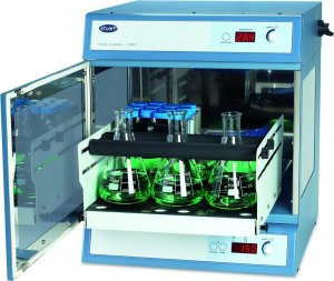 Stuart Scientific SI500 Orbital Shaking Incubator, + 5°C to 60°C Temperature Range, 30 to 300 rpm Speed Range, 16mm Orbit