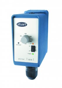 Stuart Scientific SS10  General Purpose Overhead Stirrer, 100 to 2000rpm Speed Range, 15 Litre Capacity