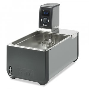 Grant Instruments T100-ST26 Optima™ Heated Circulating Bath, 26 Litre Stainless Steel Tank and Immersion Thermostat, Ambient +0°C to 100°C Temperature Range