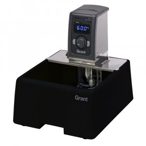 Grant Instruments TC120-P12 Heated Circulating Bath, 12 Litres Plastic Tank & Immersion Thermostat, Ambient +5 to 99°C Temperature Range