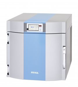 Fryka B35-85//logg BenchTop Freezer with Integrated Data Logger, with Natural Refrigerant, -50°C to -85°C, 230 V / 50 Hz, 35 Litres Capacity