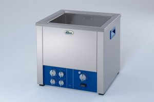 Elma 239 040 0013 Transsonic TI-H 20 MF3, Industrial Ultrasonic Bath with Frequency: 35/130 kHz, 16.8 Litres Capacity, 115V