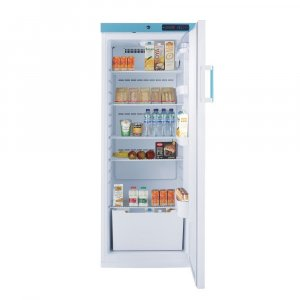 Lec Medical WSR288CUK Solid Door Tall Free Standing Ward Refrigerator, 1°C to 5°C Temperature Range, 288 Litres Capacity