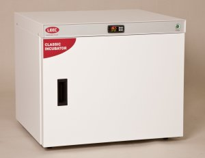 LEEC C100 Fan Circulated Incubator, 100 Litre Capacity, At least 5 °C above ambient to +60 °C Temperature Range