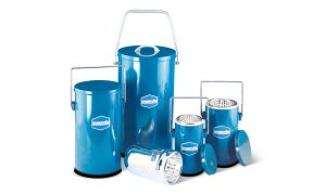 Day Impex™ MS 200 Dilvac Dewar Flasks, 10 Litres Enamelled Steel Container with Handle and Lid, 245mm x 335mm