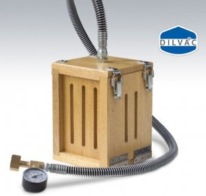 Day Impex™ 300001 Portable Dilvac Dry Ice Maker, Dimensions of block: 80mm x 110mm x 180mm