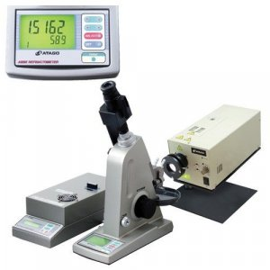Atago 1415 DR-M4/1550 Multi-Wavelength Abbe Refractometer, 1.5219 to 1.9155 - 1.4215 to 1.8136 Measurement Range