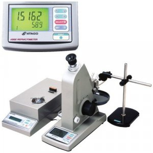 Atago 1414 DR-M4 Multi-Wavelength Abbe Refractometer, 1.5219 to 1.9220 - 1.4260 to 1.8259 Measurement Range