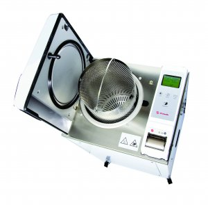 LTE Scientific LAB/23/01 Labclave 23 Compact Top Loading Laboratory Autoclave, 105ºC to 135ºC, 23 Litres Capacity