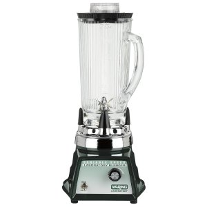 Waring LB20EG Variable Speed Control Blender , 1.2 Litre Heat Resistant Glass Container, 230V, 50 Hz , CE Approved, ROHS with European F Schuko Plug