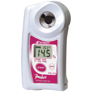 Atago 4431 PAL-31S Digital Hand-Held Pocket Formic Acid Refractometer,  0.0 to 20.0% Range