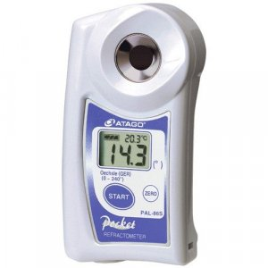 "Atago 4486 PAL-86S Digital Hand-Held ""Pocket"" Wine Refractometer PAL Series, Oe (GER) : 0 to 240° Range"