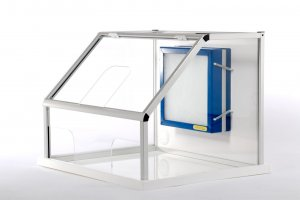 Waysafe SA640 Sample Analysis Enclosure, 50 x 64 x 60cm,  used by many asbestos analysis companies