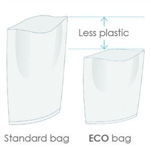 Seward BA6341 Stomacher 400 ECO bag (TVC) , 155×200, 500 per pack (10 x sachets of 50)